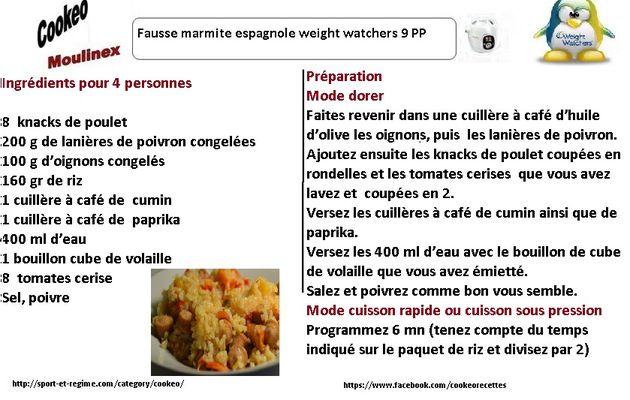Fausse marmite espagnole