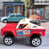 CUSTOM FORD BRONCO 4X4 TOUT TERRAIN HOT WHEELS 1/64 - car-collector.net