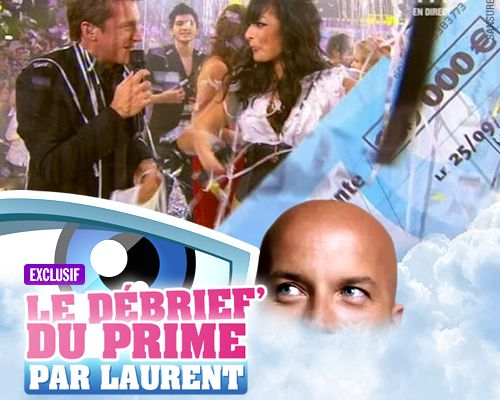 EXCLUSIF / Secret Story 3 : le débrief' de la finale par Laurent !