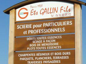 Notre Partenaire Gallin ( scierie )