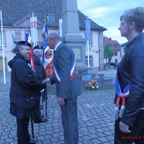 Cérémonie de la Journée Nationale de la Déportation à Neuf-Brisach