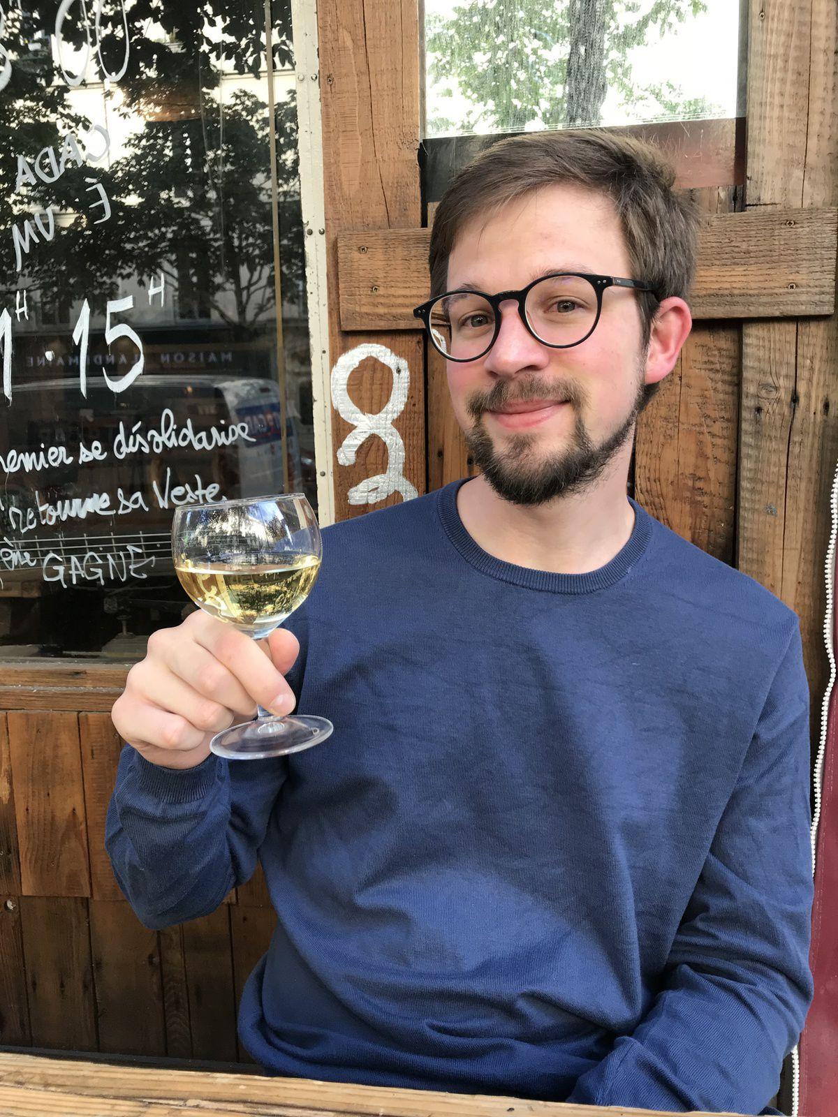 Nicolas Rimoux, fou à cause de la Bourgogne se souvient du klevener d'Heilligenstein...