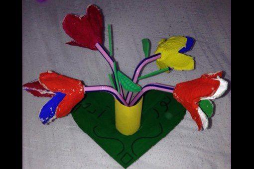 Un joli pot de fleurs