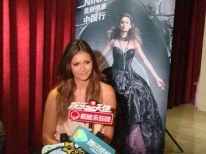 Entre les interviews, les talk-shows, Nina a séduit le pays Chinois !