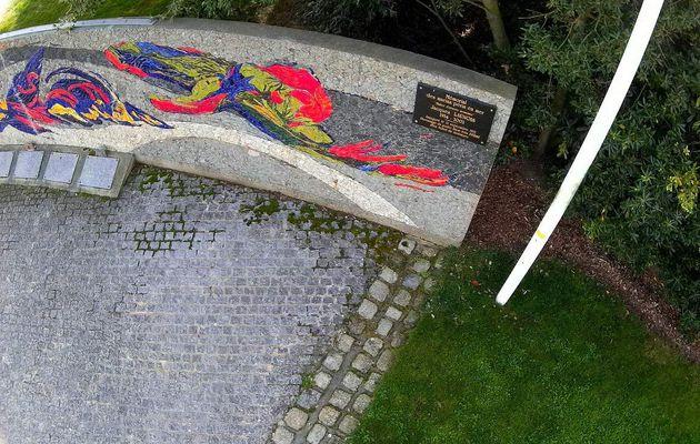 Le mémorial aux péris en mer aux Sables d'Olonne