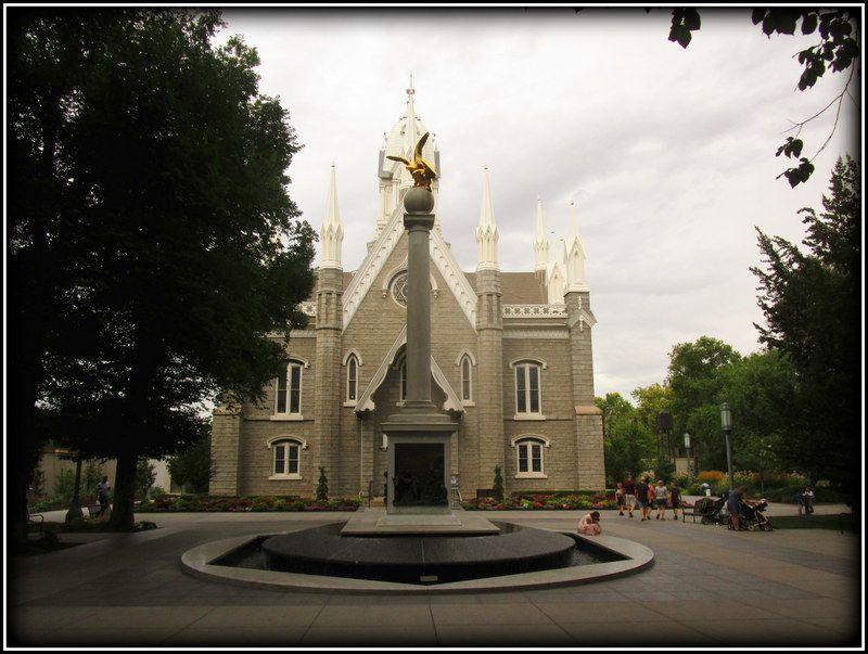 L'Utha et sa capitale Salt Lake City...
