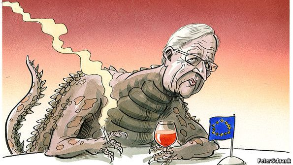 JEAN CLAUDE JUNCKER One of those who destroyed Greece and created 1 million more jobless and 5000 economic suicides-murders in 3 years.To serve market vultures.