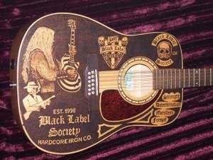 guitare black label society