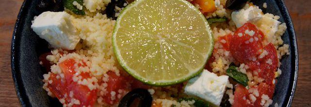 Taboulé Feta-Menthe-Tomates