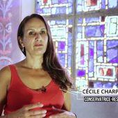 Présentation du chantier de restauration des toiles marouflées de la Cathédrale de Saint-Denis de La Réunion, sous la maîtrise d'ouvrage de l'État