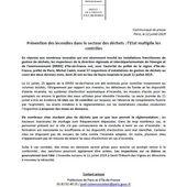 PREVENTION DES INCENDIES DANS LE SECTEUR DES DECHETS
