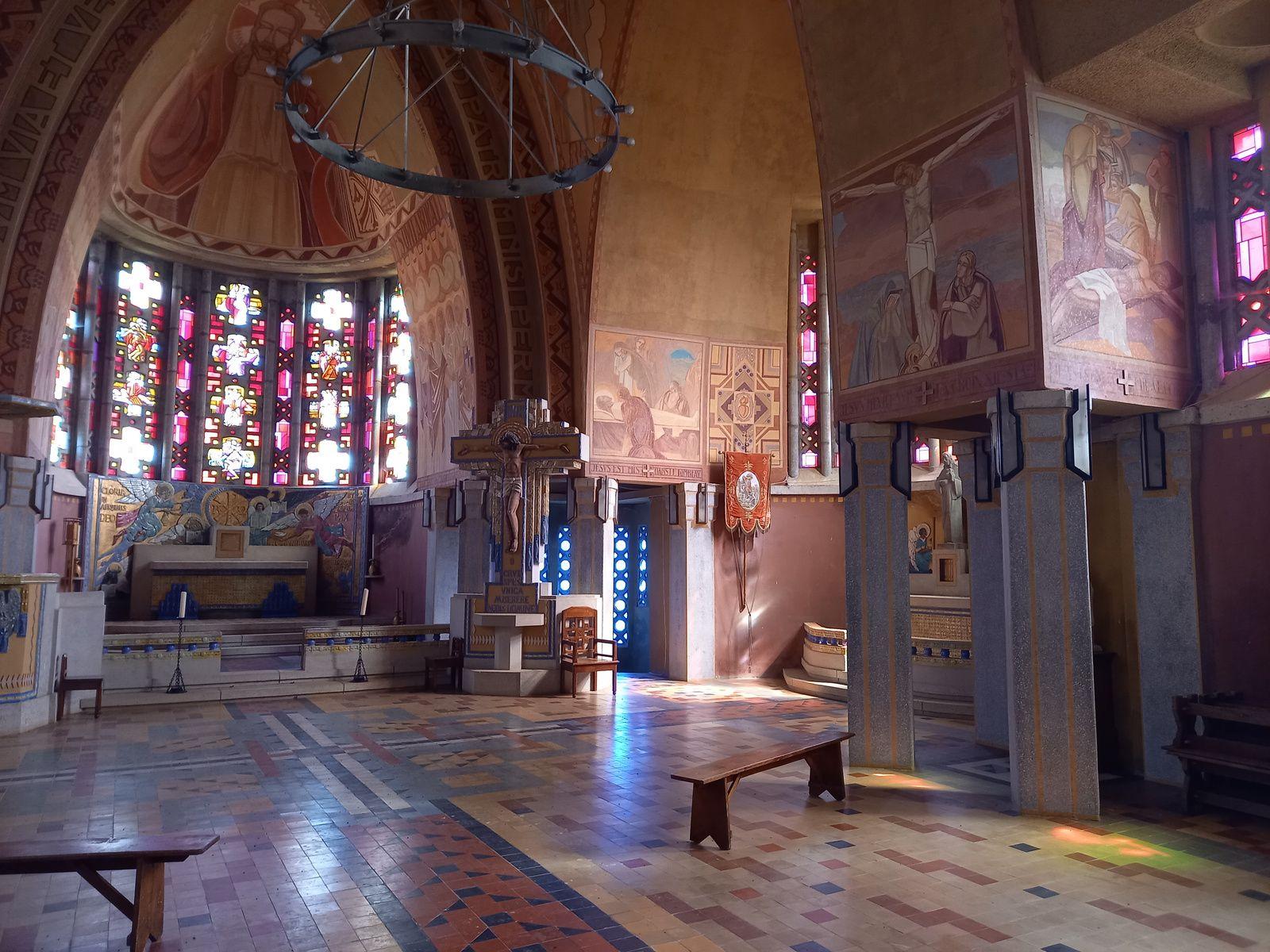 Les décors intérieurs de l'église sont classés à l'inventaire des monuments historiques depuis 1997