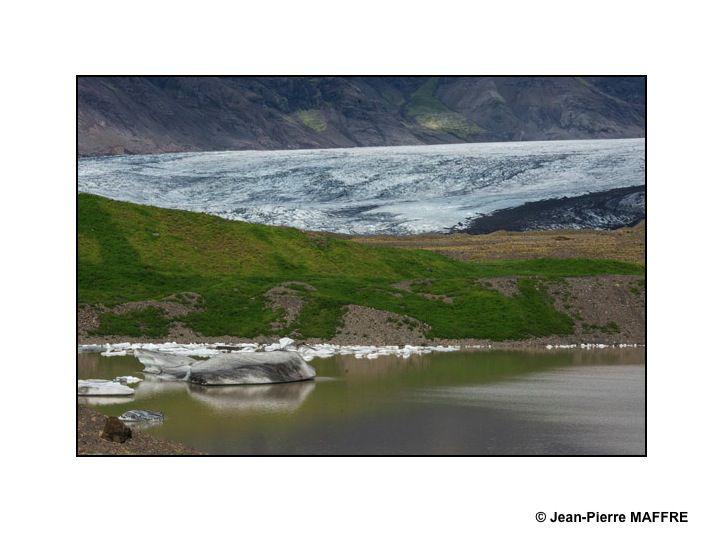 L'Islande est l'une des régions du monde où la fonte des glaciers est particulièrement visible.