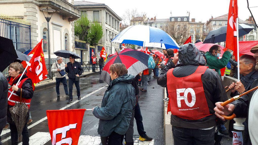 Premier mai 2021 : 500 au Puy et 150 000 dans tout le pays, malgré le confinement