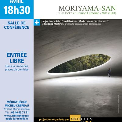 PROJECTION MORIYAMA - SAM mardi 2 avril