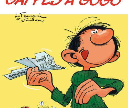 """Edition """"collector"""" des BD Gaston Lagaffe avec Télé 7 jours dès le 8 octobre."""