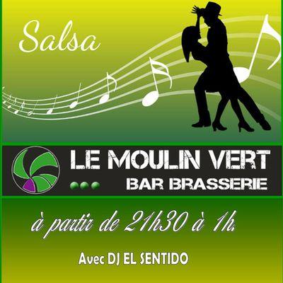 soirée salsa samedi 19 mai.