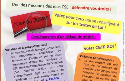 Groupama - Tract du syndicat CGTR de Groupama OI