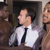 Saint-Martin : Macron assume une photo qui irrite certains à l'extrême droite