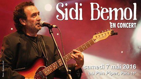 Sidi Bemol en concert à Paris 11e