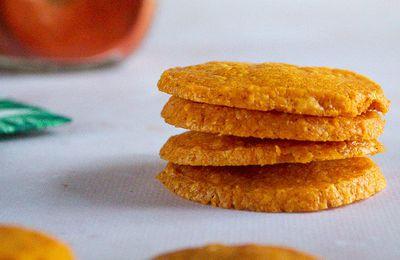 Crackers au cheddar et paprika fumé