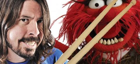 Drum Battle : Dave Grohl vs Muppet