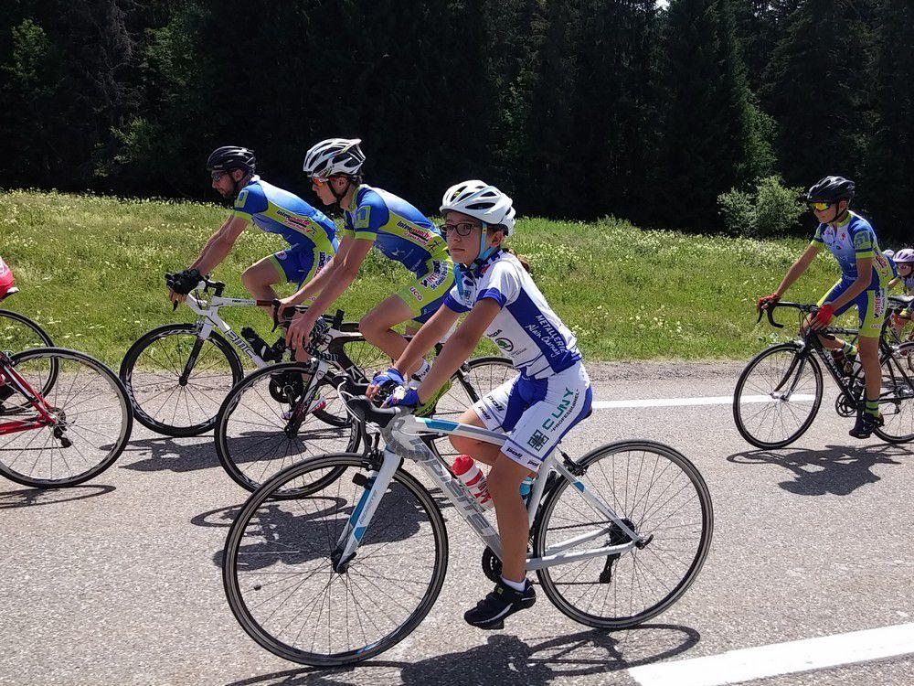 L'ECBB sur le Tour de France aux Rousses.