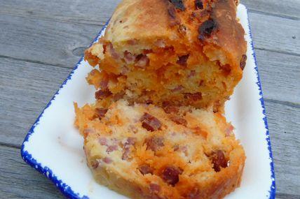 Cake Bacon et Chorizo Omnicuiseur Vitalité