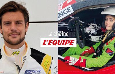 Adrien Tambay et Mylène Dorange rejoignent la chaine L'Équipe pour la saison de Formule E