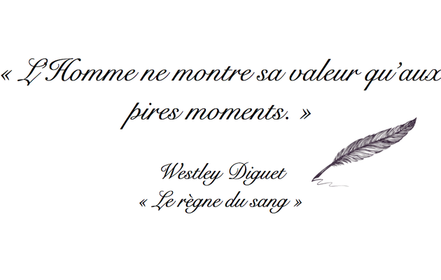 Citation Westley Diguet