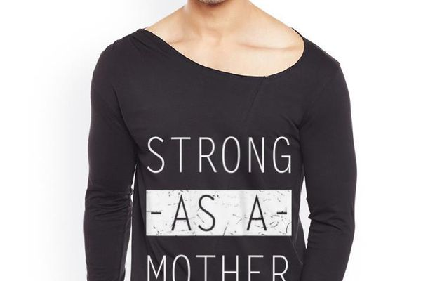 Hot Mom Day Strong as a Mother Shirt