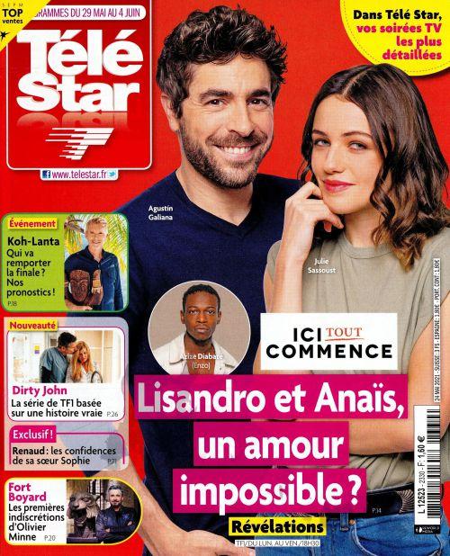 La une de 10 nouveaux numéros des revues TV ce lundi : Nadal, Louane, Lorie...
