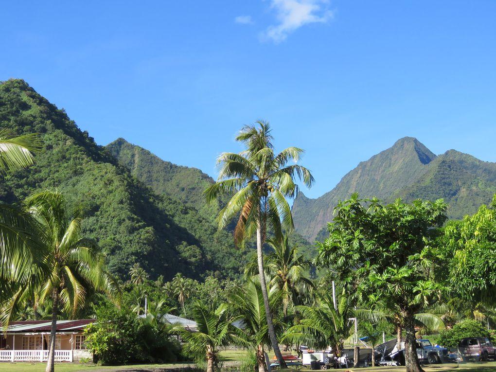 Saga Tahitienne .... Derniers jours à Tahiti. Visite de côte ouest-sud et divers à Papeete