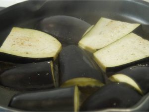 Aubergines au parmesan