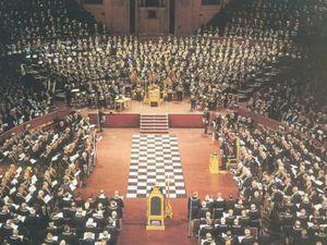 Grand Temple de la GLUA, Freemasons Hall, Londres, Covent Garden.