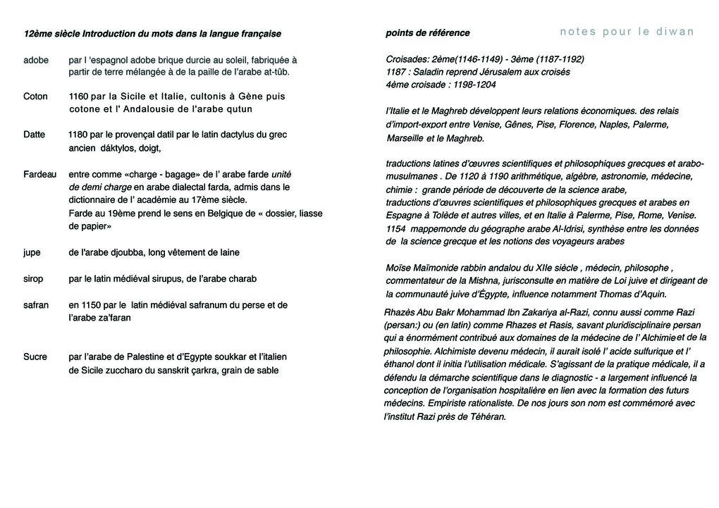 notes géopolitiques 8ème s.> 20ème s.