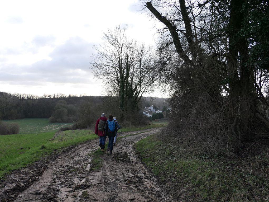Randonnée de Luzarches à Ecouen - 22,5 km.