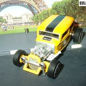 32 FORD HOT ROD EQUIPE MOON HOT WHEELS 1/50 - RAT ROD EQUIPED MOON - car-collector.net