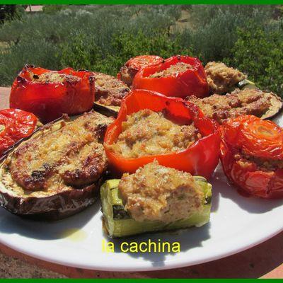 Rappel des farçis Provençaux tout en photo