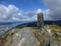 Zum Nordkap mit der Mein Schiff 1 - 2.)  erster Seetag und die Stadt Bergen
