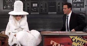 Lady Gaga s'habille en upcyclé!