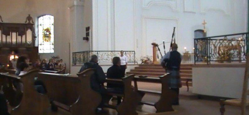 Messe en l'Eglise Royale St Louis de Neuf-Brisach