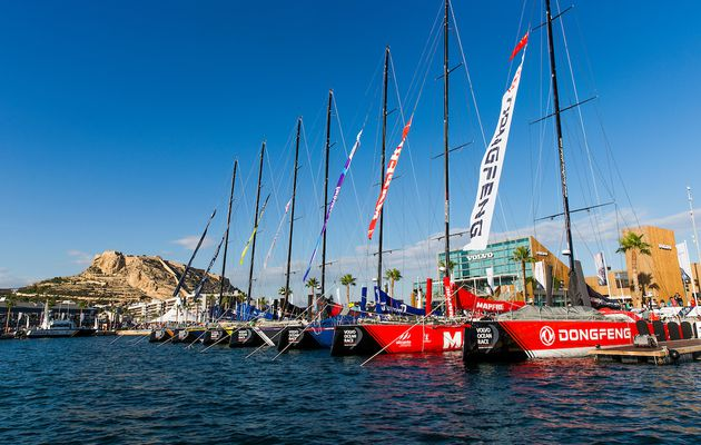 The Ocean race Europe fera escale à Alicante en 2022