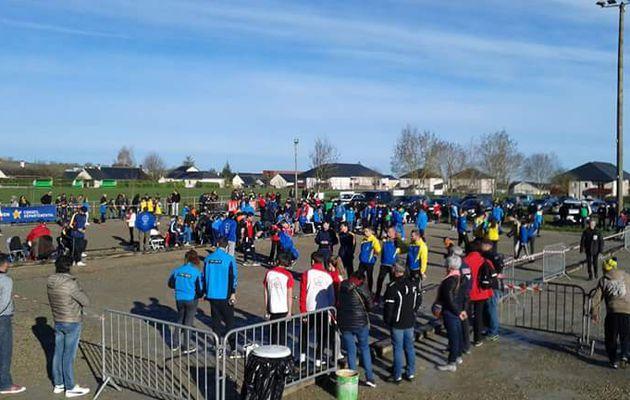 Championnats Triplettes Jeunes du Comité de l'Aveyron : Le District Pétanque Saint Affrique Jeunes à la peine