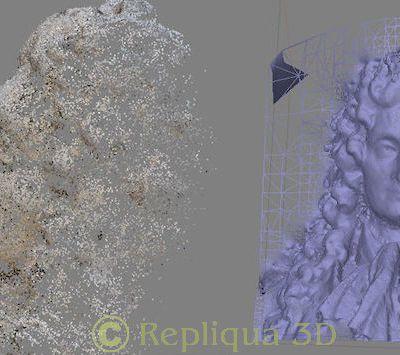 Numérisation 3D et modélisation: champs d'application