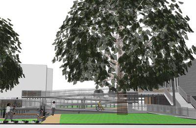 Errichtung einer barrierefreien Rampe für die Mainfrankensäle: Architektenentwurf fand  nach kontroverser Diskussion keine Mehrheit