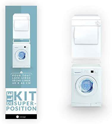 Comment fixer son sèche-linge sur sa machine à laver? (astuces, conseils ...)