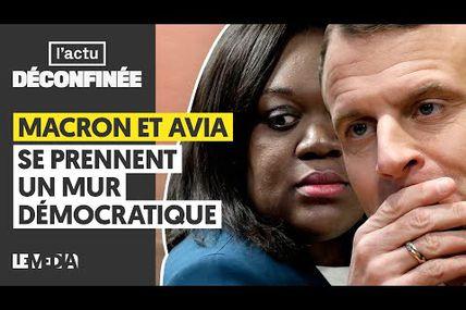 MACRON ET AVIA SE PRENNENT UN MUR DÉMOCRATIQUE! Je recommande vraiment cette vidéo à tous ceux qui veulent comprendre ce qui se joue vraiment actuellement, en France comme ailleurs ! Très bonne analyse médiatique et politique !