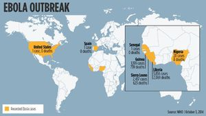 CNN - Spain has outbreak's 1st known case of contracting Ebola outside of Africa