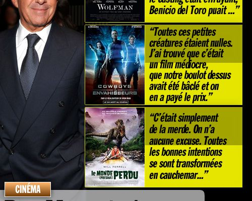Ron Meyer tacle les films de son studio !